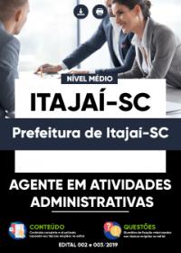 Agente em Atividades Administrativas - Prefeitura de Itajaí-SC