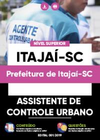 Assistente de Controle Urbano - Prefeitura de Itajaí-SC