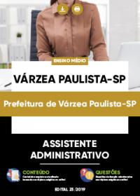 Assistente Administrativo - Prefeitura de Várzea Paulista-SP