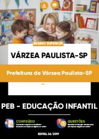 PEB - Educação Infantil - Prefeitura de Várzea Paulista-SP