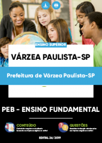 PEB - Ensino Fundamental - Prefeitura de Várzea Paulista-SP
