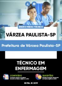 Técnico em Enfermagem - Prefeitura de Várzea Paulista-SP
