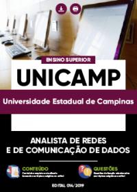 Analista de Redes e de Comunicação de Dados - UNICAMP