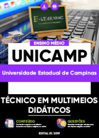 Técnico em Multimeios Didáticos - UNICAMP