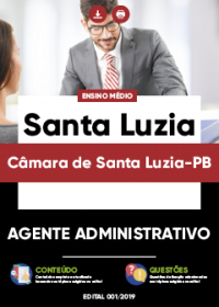 Agente Administrativo - Câmara de Santa Luzia-PB