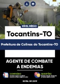 Agente de Combate a Endemias - Prefeitura de Colinas do Tocantins-TO