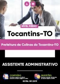 Assistente Administrativo - Prefeitura de Colinas do Tocantins-TO