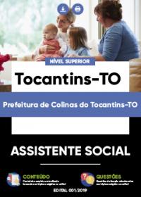 Assistente Social - Prefeitura de Colinas do Tocantins-TO