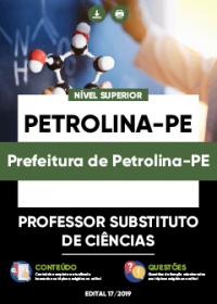 Professor Substituto de Ciências - Prefeitura de Petrolina-PE