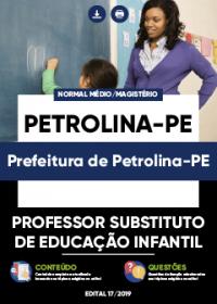 Professor Substituto de Educação Infantil - Prefeitura de Petrolina-PE