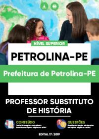 Professor Substituto de História - Prefeitura de Petrolina-PE