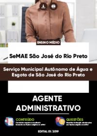 Agente Administrativo - SeMAE São José do Rio Preto