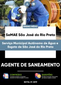 Agente de Saneamento - SeMAE São José do Rio Preto