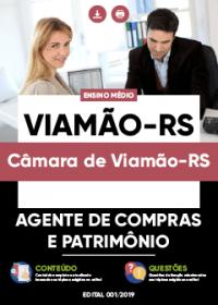 Agente de Compras e Patrimônio - Câmara de Viamão-RS