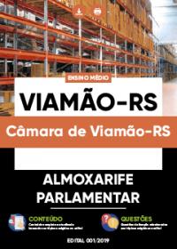Almoxarife Parlamentar - Câmara de Viamão-RS