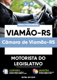 Motorista do Legislativo - Câmara de Viamão-RS