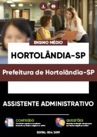 Assistente Administrativo - Prefeitura de Hortolândia-SP