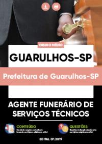 Agente Funerário de Serviços Técnicos - Prefeitura de Guarulhos-SP