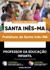 Professor da Educação Infantil - Prefeitura de Santa Inês-MA
