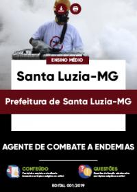 Agente de Combate a Endemias - Prefeitura de Santa Luzia-MG