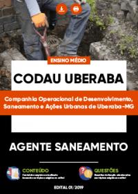 Agente Saneamento - CODAU Uberaba