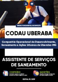 Assistente de Serviços de Saneamento - CODAU Uberaba