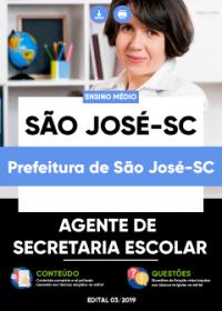 Agente de Secretaria Escolar - Prefeitura de São José-SC