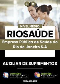 Auxiliar de Suprimentos - RioSaúde