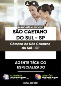 Agente Técnico Especializado - Câmara de São Caetano do Sul-SP