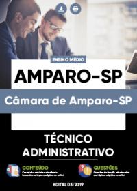Técnico Administrativo - Câmara de Amparo-SP