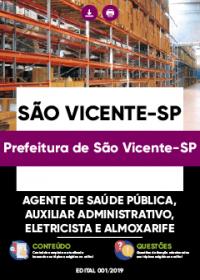 Agente de Saúde Pública - Prefeitura de São Vicente-SP