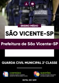 Guarda Civil Municipal 2ª Classe - Prefeitura de São Vicente-SP