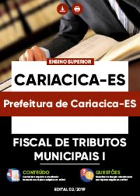 Fiscal de Tributos Municipais I - Prefeitura de Cariacica-ES