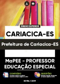 MaPEE - Professor Educação Especial - Prefeitura de Cariacica-ES