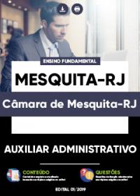 Auxiliar Administrativo - Câmara de Mesquita-RJ