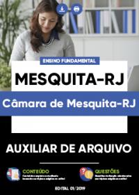 Auxiliar de Arquivo - Câmara de Mesquita-RJ