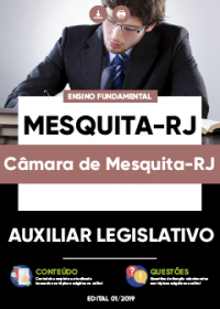 Auxiliar Legislativo - Câmara de Mesquita-RJ