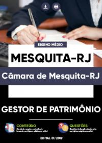 Gestor de Patrimônio - Câmara de Mesquita-RJ