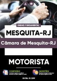 Motorista - Câmara de Mesquita-RJ