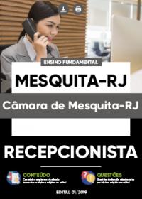 Recepcionista - Câmara de Mesquita-RJ