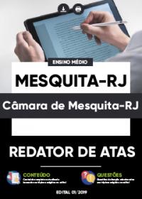 Redator de Atas - Câmara de Mesquita-RJ