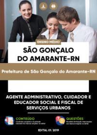 Agente Administrativo - Prefeitura de São Gonçalo do Amarante-RN