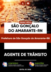 Agente de Trânsito - Prefeitura de São Gonçalo do Amarante-RN