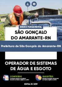 Operador de Sistemas de Água e Esgoto - Prefeitura de São Gonçalo do Amarante-RN