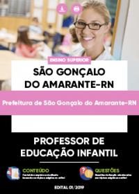Professor de Educação Infantil - Prefeitura de São Gonçalo do Amarante-RN