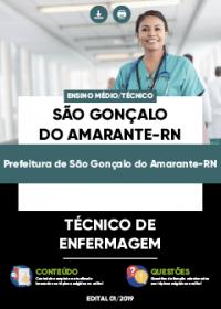 Técnico de Enfermagem - Prefeitura de São Gonçalo do Amarante-RN