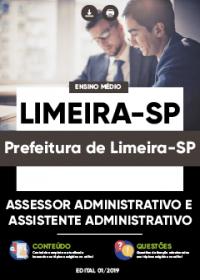 Assessor Administrativo e Assistente Administrativo - Prefeitura de Limeira-SP