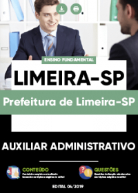 Auxiliar Administrativo - Prefeitura de Limeira-SP
