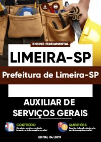 Auxiliar de Serviços Gerais - Prefeitura de Limeira-SP
