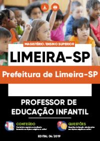 Professor de Educação Infantil - Prefeitura de Limeira-SP